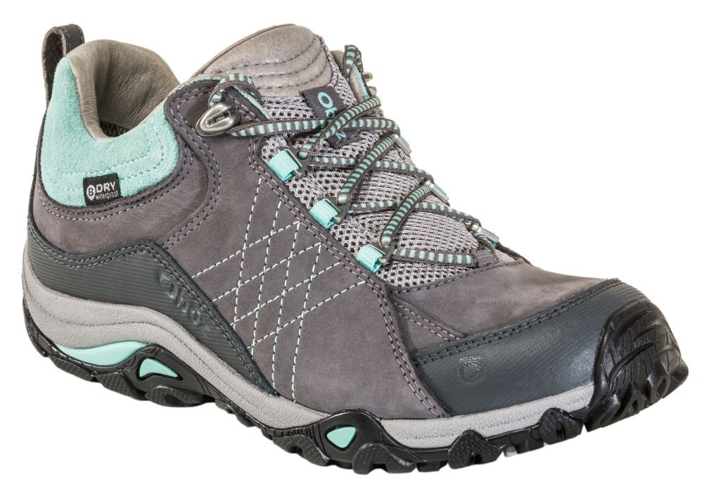 Oboz Women's Sapphire Low Waterproof Shoe B074N99R4V 8.5 B US|CHARCOAL/BEACH