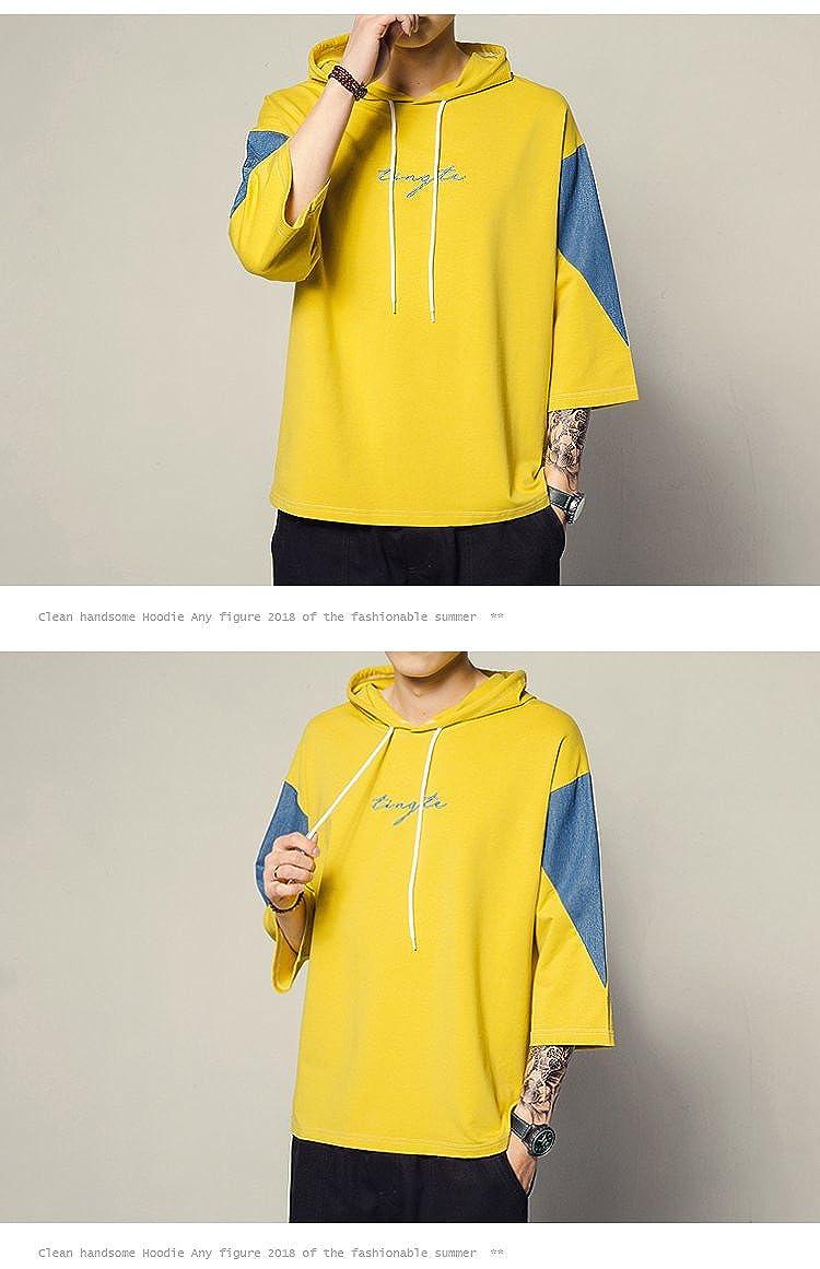 シンプル 春夏着服 快適 トップス Tシャツ オシャレ 半袖 メンズ カジュアル 大きいサイズ きれいめ 面白い パーカー