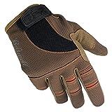 Biltwell Moto Gloves (Brown/Orange, XX-Large)