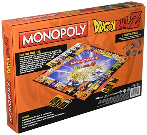 614y Sb30xL - Dragon Ball Z Monopoly