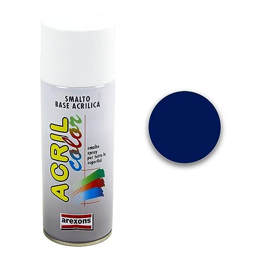 19 opinioni per Smalto acrilico spray Arexons 5013 blu cobalto [AREXONS]