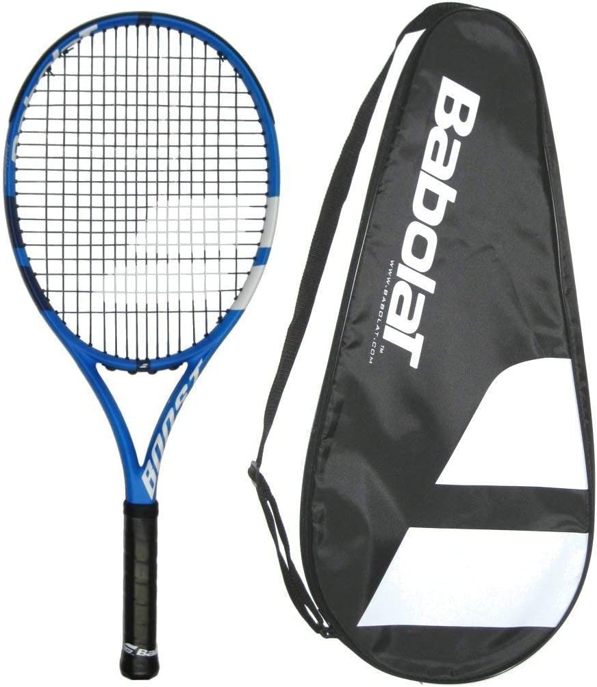 Babolat 2019 Boost D Boost Drive Tennis Racquet – Strung with Cover