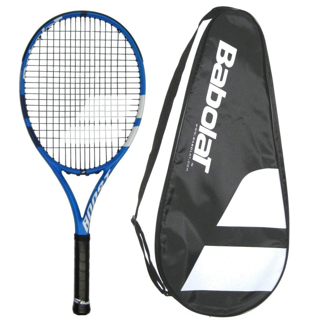 Babolat 2018 Boost D Boost Drive Tennis Racquet Strung with Cover