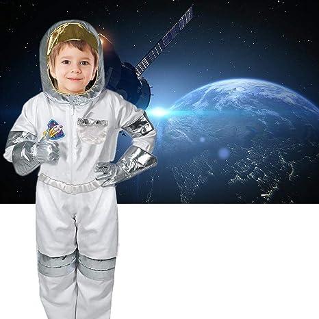Juego de rol traje de astronauta niño traje de astronauta juego de rol niño niña con guantes de casco