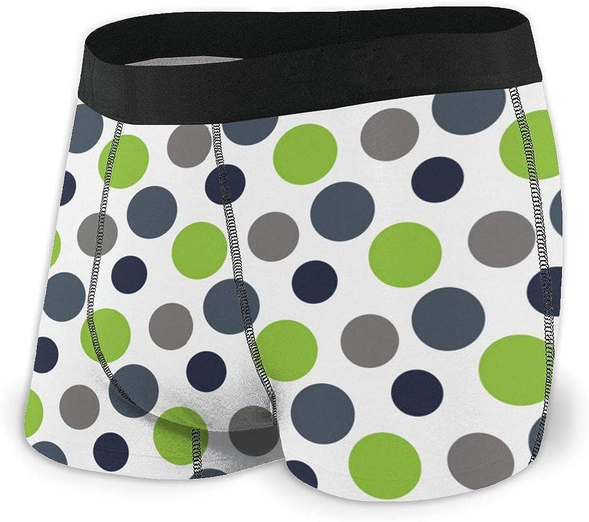 Rhodar Mens Breathable Soft Name Underwear Boxer Briefs