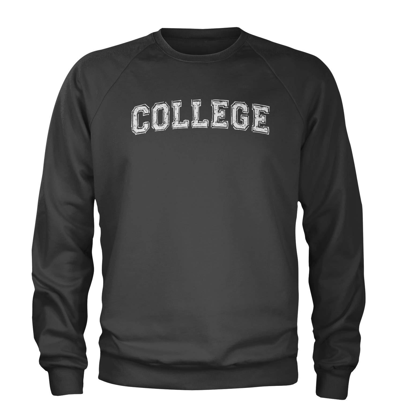 Expression Tees College Belushi Bluto Tribute Crewneck Sweatshirt