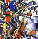 Kazimir Severinovich Malevich The Knife Sharpener 72x72 [Kitchen]