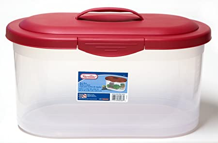 Sterilite Holiday Bow Storage Box Container Amazon Co Uk Kitchen
