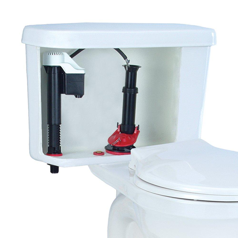 Korky 4010PK Universal Complete Toilet Repair - Stops Running ...