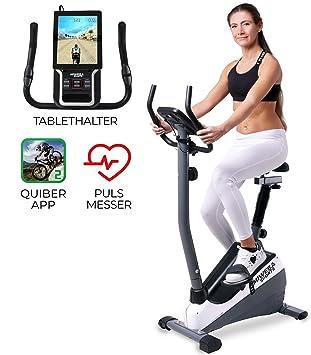 Miweba Sports Indoor Xycling X-Bike MX-100 Ergometer Heimtrainer App Anbindung 3 Kg Schwungmasse Pulsmessung Klappbar
