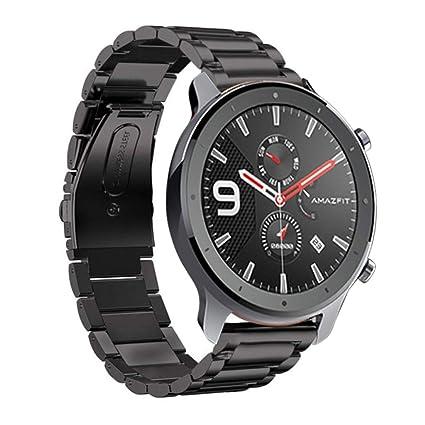 SHSH 1 correa de metal de repuesto para reloj inteligente AMAZFIT ...
