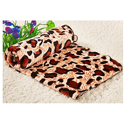 m Blanket Pet Sleep Mat Pad Bed Cover Dogs Soft Crate Pad Cat Bed Mattress Cushion (M:50x80cm/19.6x31.5