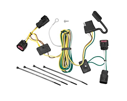 tekonsha 118450 t one connector assembly Porsche Cayenne Trailer Wiring