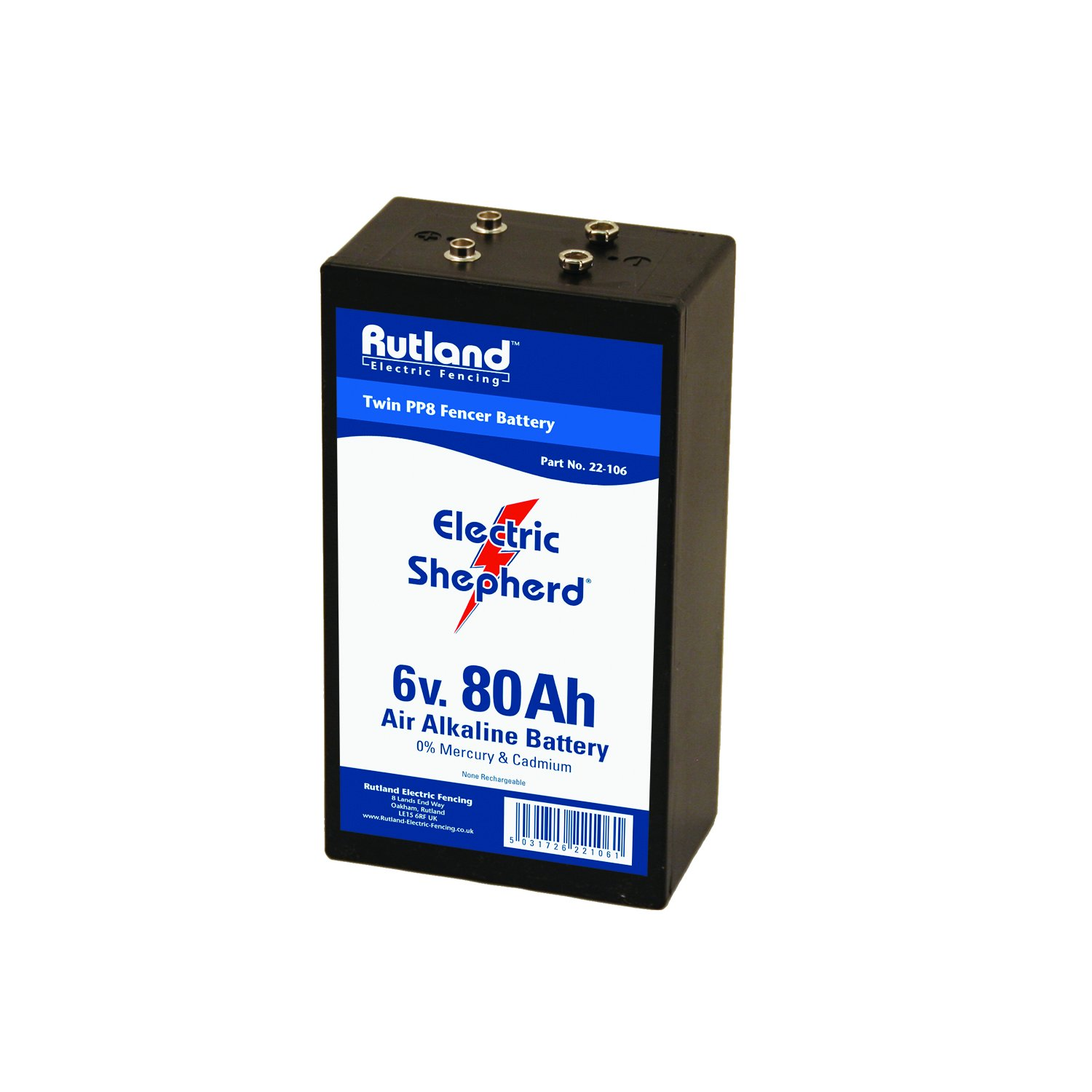 Rutland Battery for Zaungerä te 80 22– 106R AMP 22-106R
