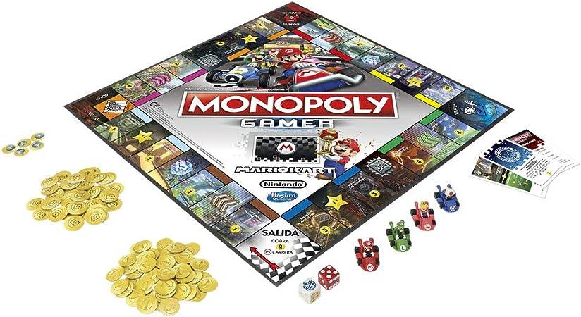 Monopoly- Juego de Mesa (Versión Portuguesa) (Hasbro E1870105): Amazon.es: Juguetes y juegos