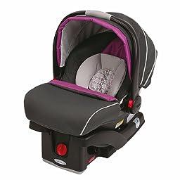 customer reviews graco snugride click connect 35 infant car seat tangerine. Black Bedroom Furniture Sets. Home Design Ideas