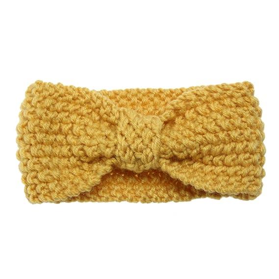 bab1d2aeb271 Crazy-Store Kids Baby Infants Warm Wool Knit Headband Turban Stretch ...