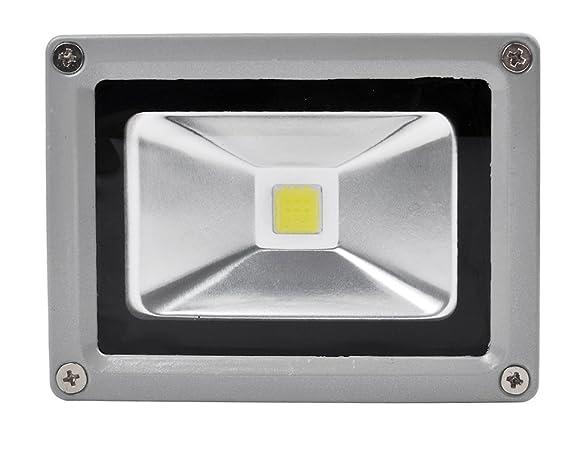 4X 10W Luz Foco Proyector LED Blanco Frio Foco Exterior Foco de pared Aluminio IP65 Impermeable: Amazon.es: Iluminación
