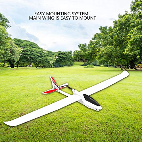 Dilwe PNP Glider, 2000MM Wingspan Fixed-Wing Glider with 2215 1400KV Motor 30A ESC RC Aircraft Model Outdoor Toys(PNP) by Dilwe (Image #4)