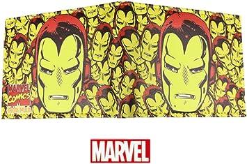 Marvel Comics (Avengers) Multi Ironman Head Bi-fold Cartera para hombres / ni?os con caja de regalo: Amazon.es: Equipaje