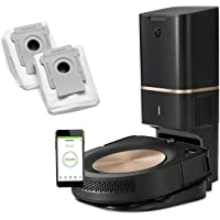 iRobot Roomba s9+ Robotic Vacuum Bundle with Automatic Dirt Disposal- Alexa Connected, Home Mapping, Great for Pet Hair…