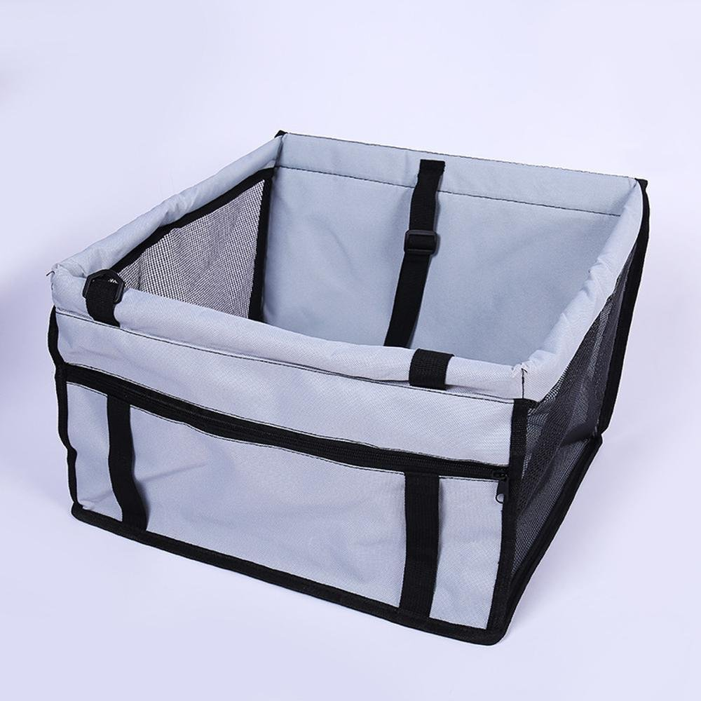 A Dixinla Pet Carrier Backpack NET yarn bag-resistant pet car cushion double thickening Cushion