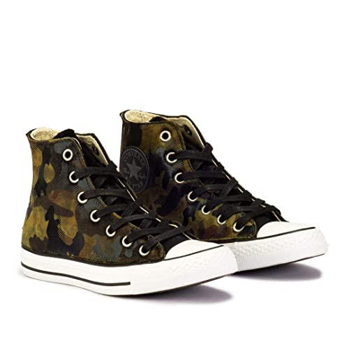 037c132206f Converse Chuck Taylor All Star Camo Velvet High Top Verde - Zapatillas Mujer  - Verde