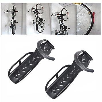 9a9a5a030 Shouldbuy Gancho de pared para colgar bicicleta Set de 2 soportes  Amazon.es   Deportes y aire libre