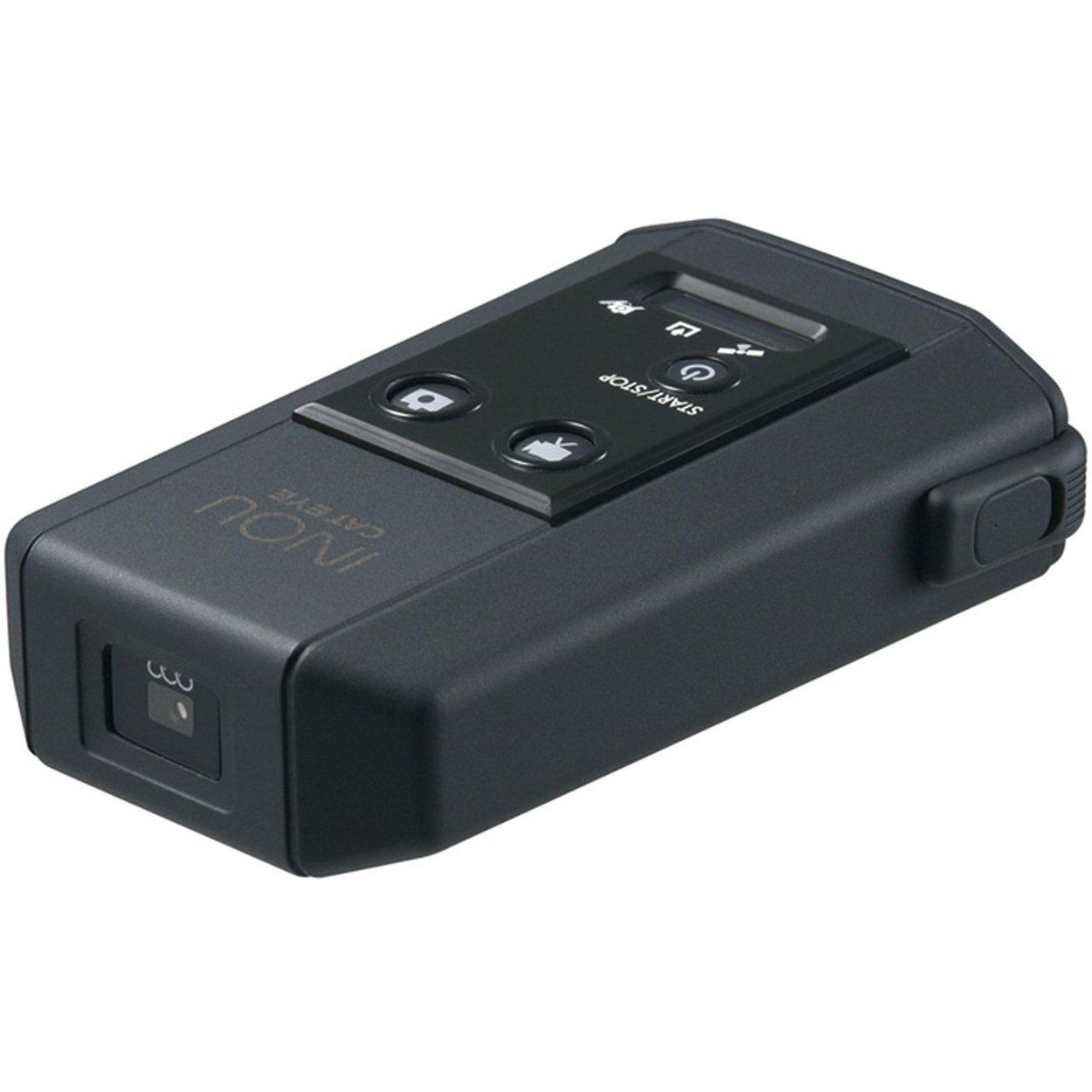 Cateye Multi Sport Computer INOU Foto- und Videokamera mit GPS Logger, schwarz