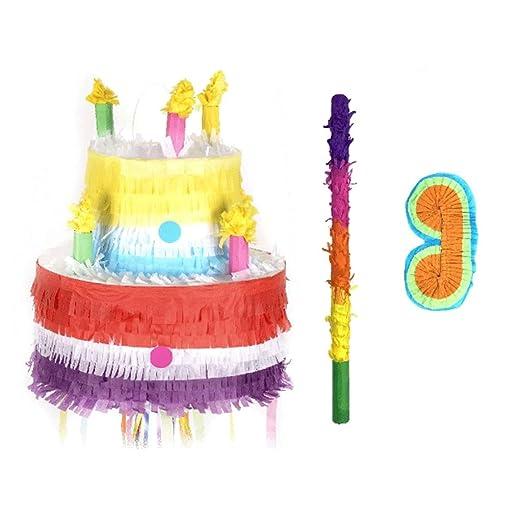 Pinata Piñatas de Gran tamaño - Tire Piñata Pastel de ...