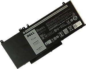 DELL 6MT4T 7.6V 62WH Lithium Polymer Battery for DELL Latitude E5270 E5470 E5570 Precision 3510 7V69Y TXF9M 79VRK 07V69Y Series Notebook
