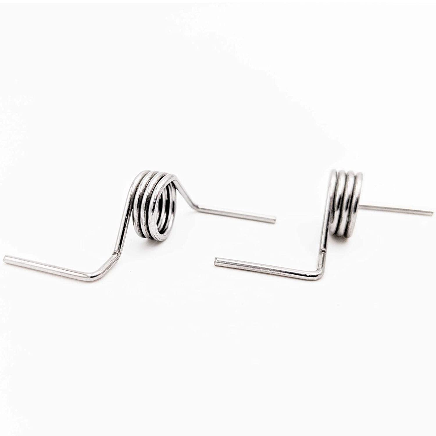 2PCS DA81 01345B Spring For Samsung Refrigerator French Door White Sleeves Pin French Spring RD DA81 01346A Compatible With Models RF267AFWP RF267HERS RF268ABBP RF268ABPN RF268ABRS RF268ABWP