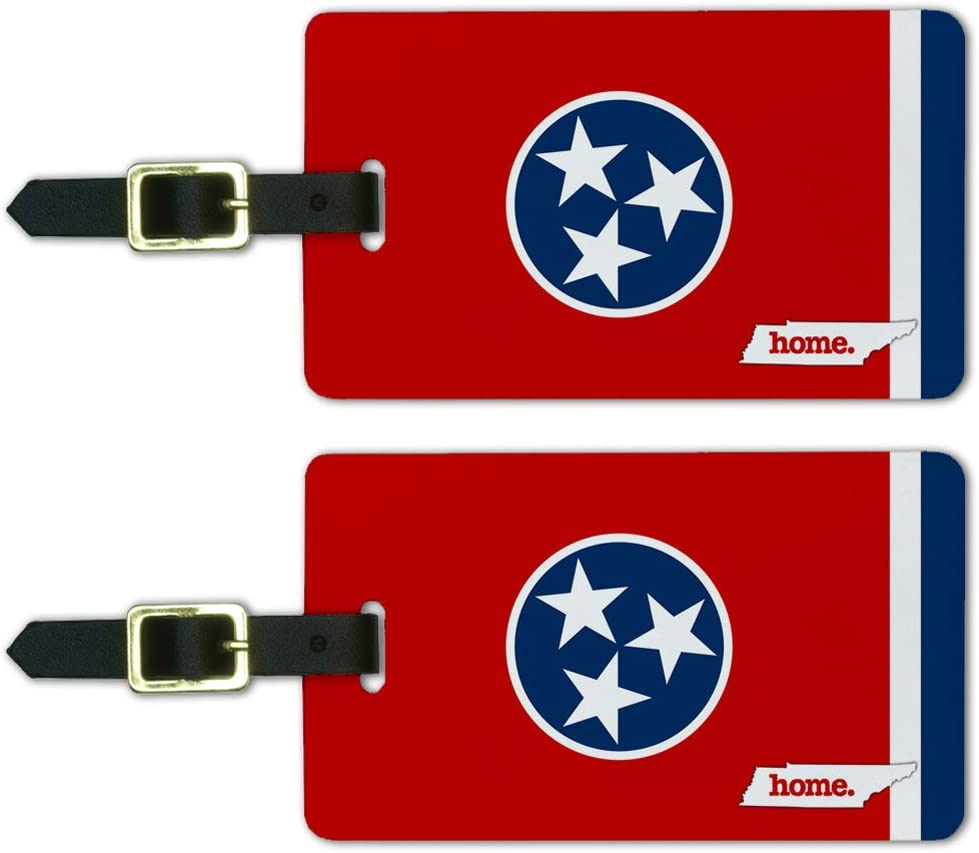 TENNESSEE STATE FLAG LUGGAGE TAG