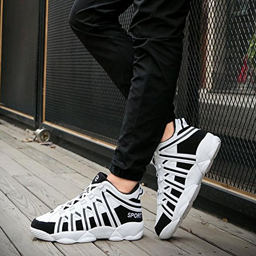 Running and Lovers Shoes GAOLIXIA Breathable The Women Colors Same Paragraph Shoes Men Shoes Women's Comfortable Sneakers White Mixed with Outdoor SwfOOxIgq