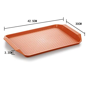 Longless Bandeja plato cantina placa de plástico cubiertos Comprar One Get One: Amazon.es: Hogar