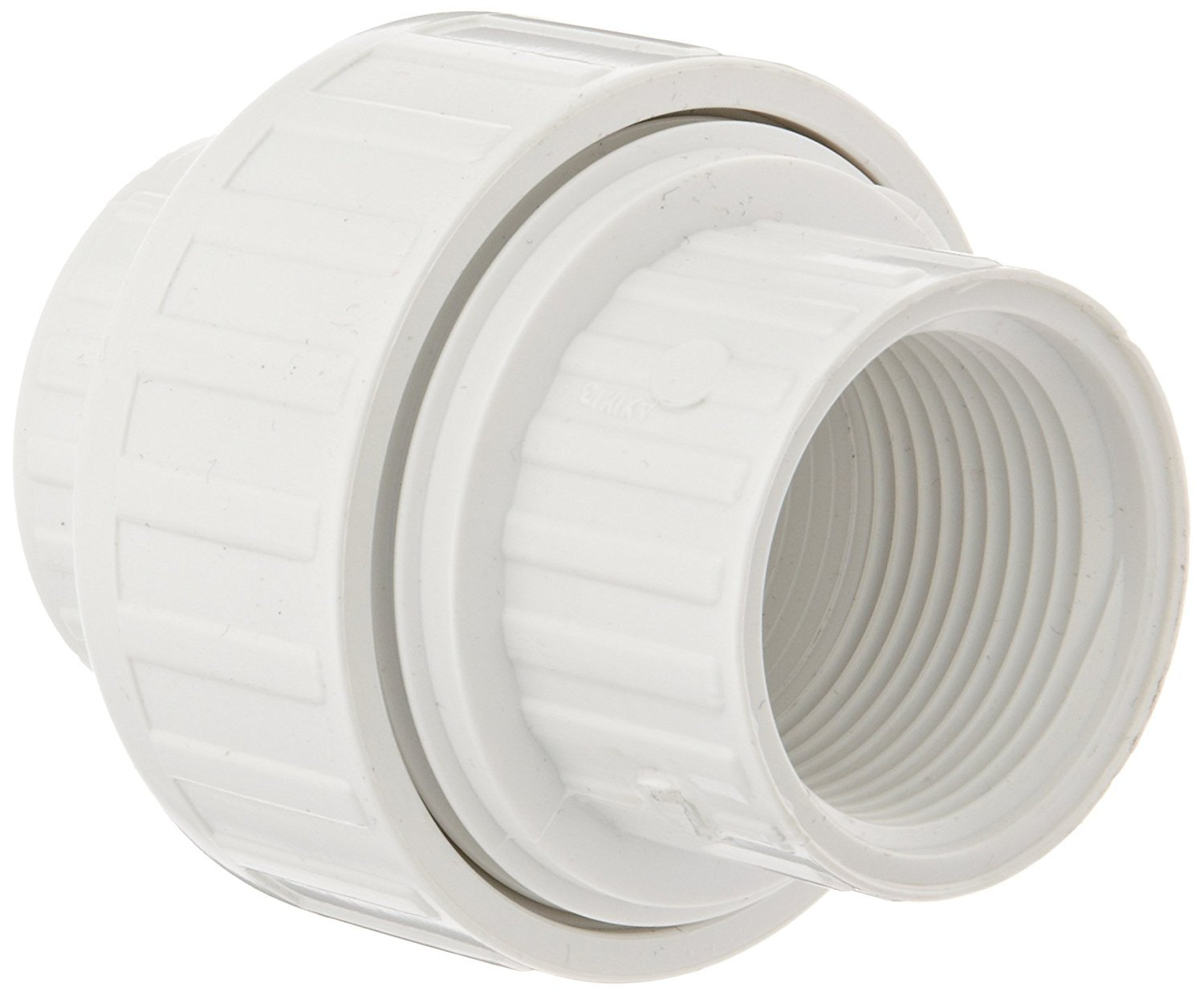 Spears 498 Series PVC Pipe Fitting Union with EPDM O-Ring 1 NPT Female Schedule 40