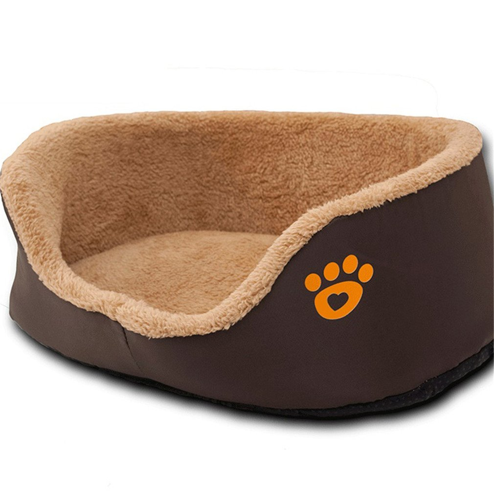 Amazon.com : Pet Small Dog Beds Puppy Sofa Beds Soft Fleece ...