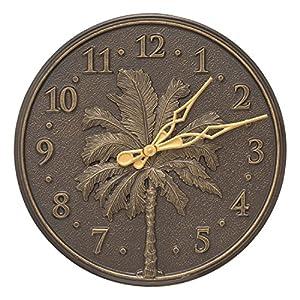 614yDeevmdL._SS300_ Coastal Wall Clocks & Beach Wall Clocks