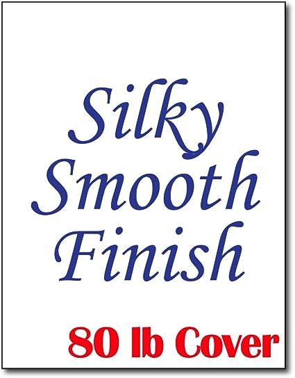 Silky suave blanco cartulina para inyección de tinta y láser ...
