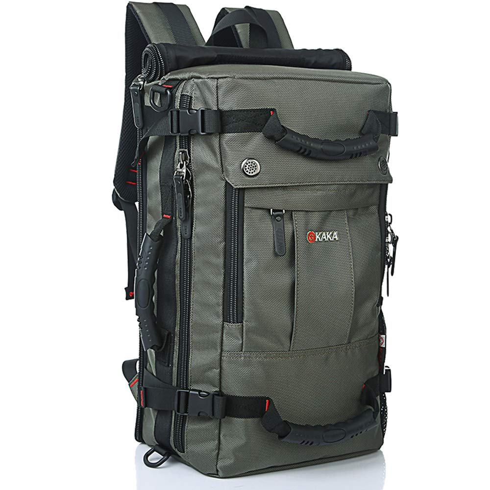 KAKA Travel Backpack,Carry-On Bag Waterproof Flight Approved Weekender Duffle Backpack Rucksack Daypack for Men Women by KAKA