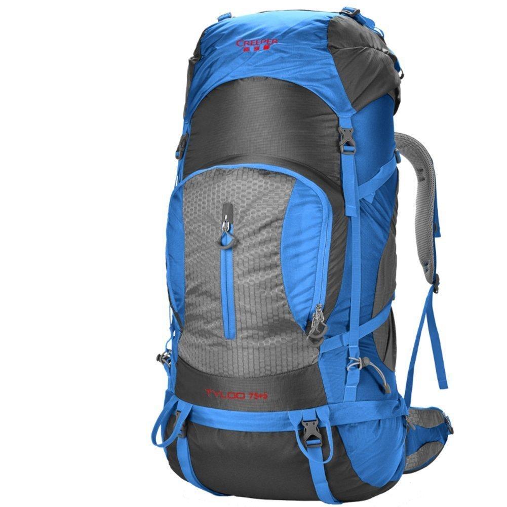 Sincere® Verpackung / Rucksäcke / Mobil / Ultralight Outdoor-Klettern Tasche / Reisetasche Schultern / 80L Tactical / Outdoor-Camping-Wanderrucksack-blau 80L