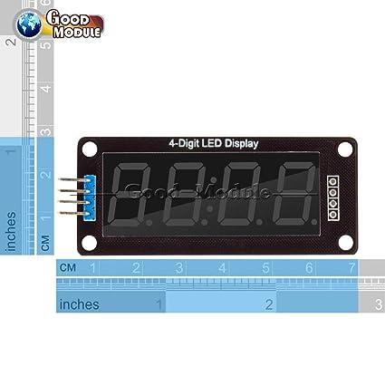 0.56Inch TM1637 de 4 bits Reloj Digital Anzeige tubo de
