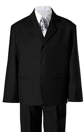 8df103693 Amazon.com: Boys Black Husky Suit: Clothing