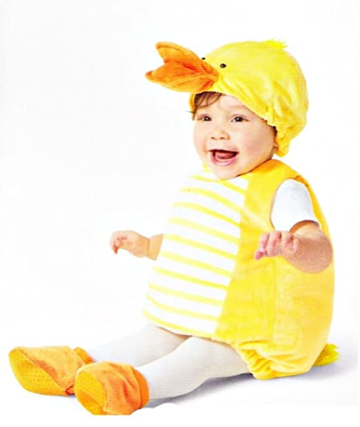 Amazon.com: Peluche pato Chaleco Infant Costume, 0-6 meses ...
