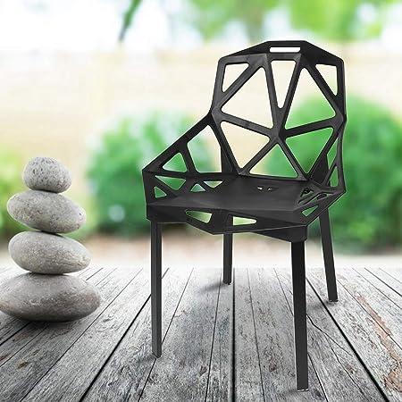 Sedie Per Esterno Plastica.Gototo Sedia Giardino Sedie Da Pranzo Sedia Esterno Shabby Chic