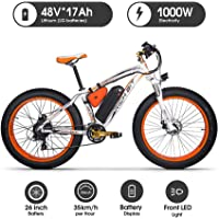 "RICH BIT 022 E-Bike Mountainbike, 1000W, 48V 17Ah Akku, 26"" Zoll"