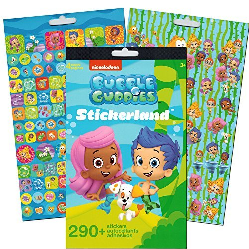 Bubble Guppies Stickers ~ 290 Reward Stickers for $<!--$5.85-->