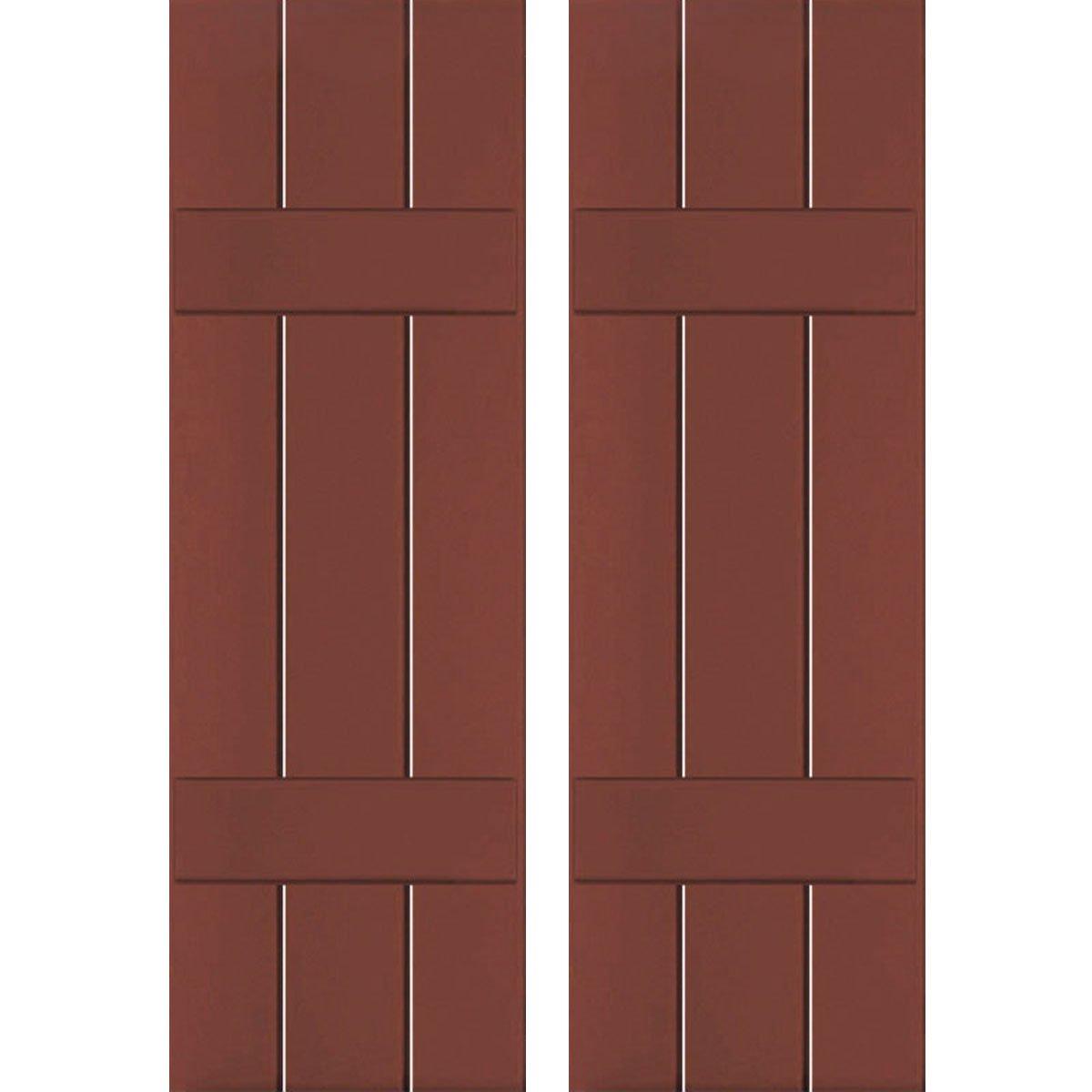 Ekena Millwork CWB12X030RWC Exterior Three Board