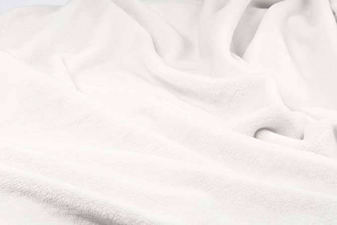Minky Peluche liso doble cara 50/x 160/cm Aigue-marine