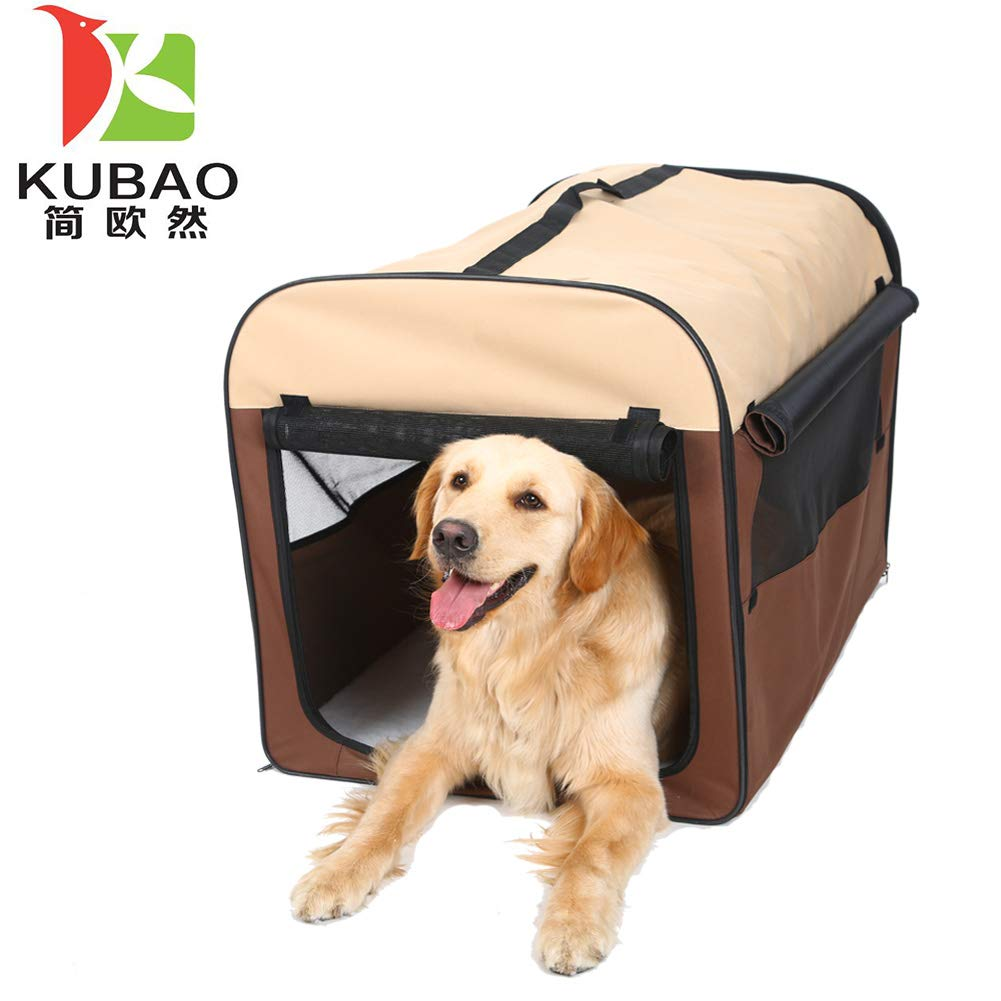 New Brown XS New Brown XS Pet Puppy Dog Playpen Exercise Pen Kennel 600d Oxford Cloth Dog House